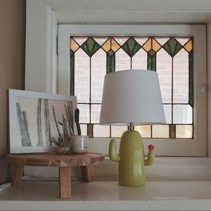 Cactus Lamp Ceramic